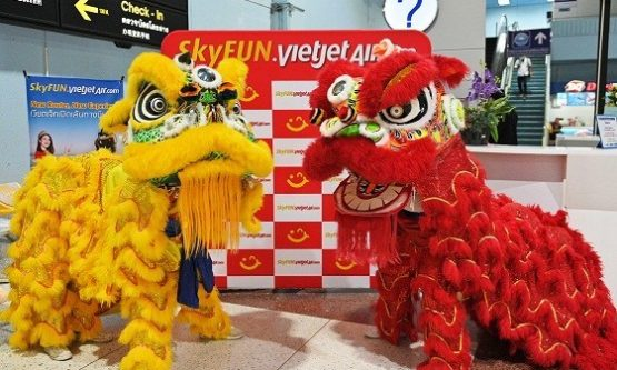 'Lunar New Year Celebration' with Thai Vietjet's from just 99THB