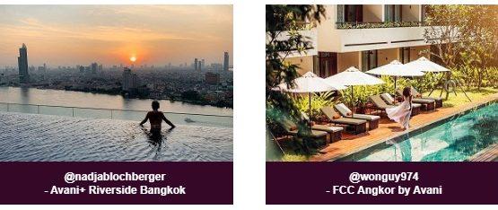Avani World's Top Ten Most Instagramable Hotels
